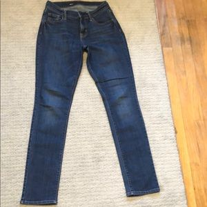 Dark wash jeans, like-new condition